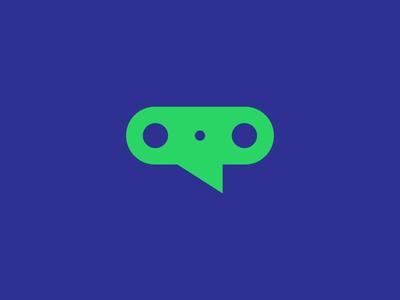 Media + Technology + Conference Logo Design Symbol