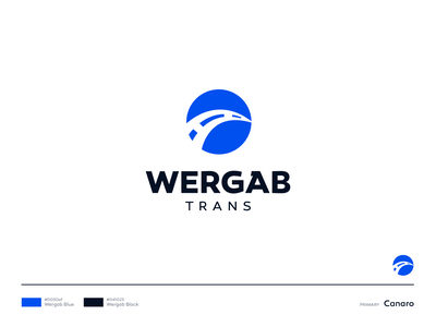 WERGAB Trans Logo design pt. II way car transport vector graphic symbol icon work design hire identity branding brand mark logo