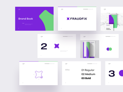 Fraudfix - Branding ux ui vector symbol graphic design work fraud identity branding brand mark logo