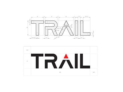 Trail logo design wordmark brand design branding brand identity logo process hiking mountain logo logo creation logo designer sports logo visual identity logotipo logotype logo design logo trail running trail
