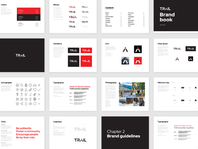 Trail brand book corporate branding and identity corporate identity design layout layout design corporate identity manual corporate design corporate branding corporate identity brand guidelines brand guide brand book branding design brand identity brand design branding