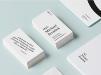 The National Gallery in Prague / business cards