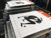 Bengal silkscreen printed bags