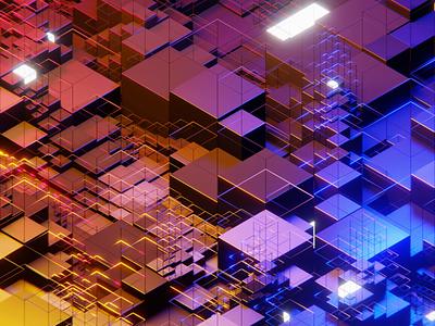 Default cube abstract cube render 3d animation 3d modeling 3d art 3d blender3dart blender 3d blender3d blender