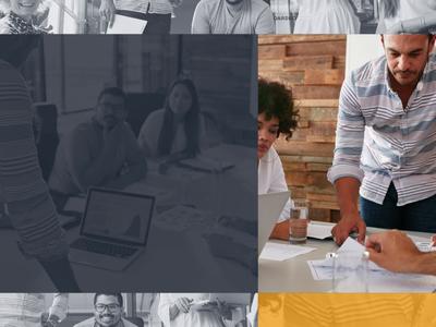 Company Profile Made Simple video display transition showcase services promo profile presentation portfolio parallax lower third dynamic corporate company business broadcast