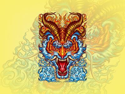 Panthera Tigris Sondaica illustrations branding tshirt vintage illustration engraving design social drawing tigers