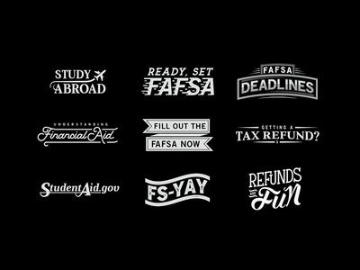 Typographic Lockups