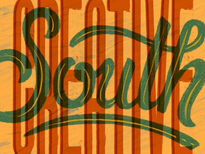 Attending Creative South 2018 south creative type drawn type lettering hand lettering creativesouth georgia columbus cs18 creative south
