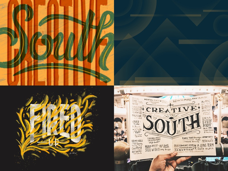 Dribbble 2018 Recap lettering drawn type topfour experimental letters hand lettering typography type