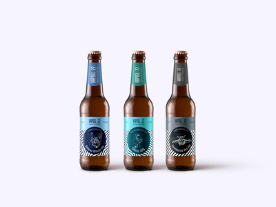 The concept for the beer design bottle design bottle label beer design graphic design logo branding illustration vector design