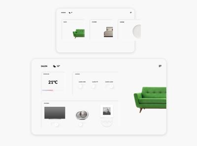 DailyUI - 021 / Home monitoring dashboard