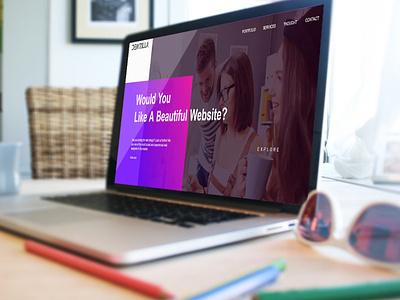 Dewzilla Digital Agency app digitalart design daily logo landingpage advertising digital web branding design
