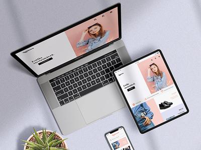 Ecommerce digital design web ui development design daily design art branding design