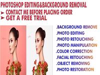 Photoshop editing & background removing