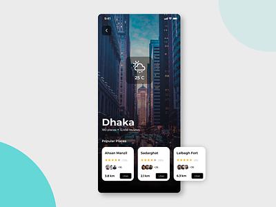 Travel App Mobile UI bangladesh dhaka app design app travel travel app uiux mobile app ui mobile app design design ux mobile ui ui