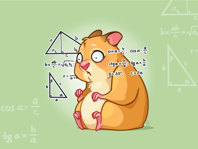 Mr. Hamster telegramstickers telegram stickers hamster cartoon character vector
