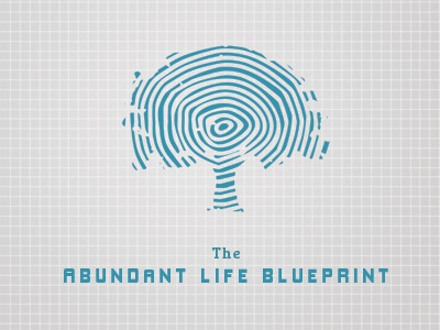 #30 blueprint tree tree rings blue gray grid book cover