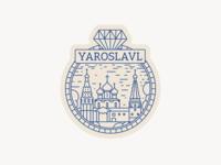 Sticker for Yaroslavl, Russia