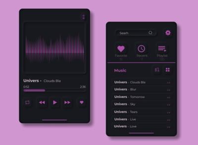 Concept Music App