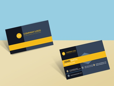 Clean business Card abstract vector flat brand illustration design branding business business card business card design business cards businesscard clean business card