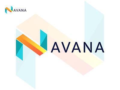 Avana logo - Property Logo - Construction Logo - Logo Design logodesign logotype logo logos modern logos modern minimalist logo minimalist minimal modern logo illustration abstract abstract logo branding design brand identity awesome logo clean logo logo design brand branding