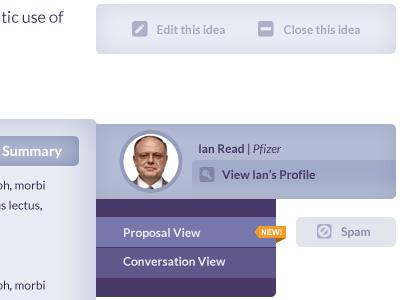 Qualtrx profiles notifications subnav