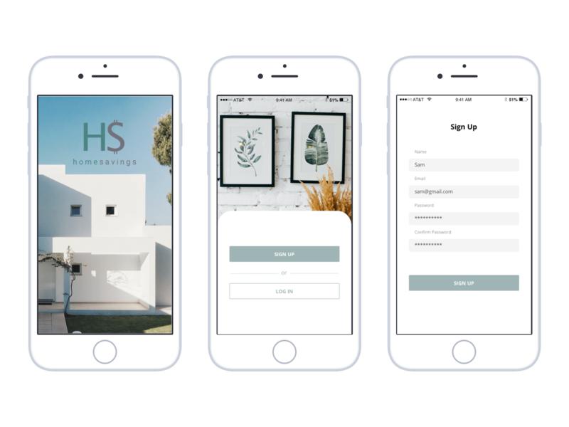 Home Savings  Mobile App