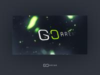 Logo for GoArena, a Swedish CS:GO community.