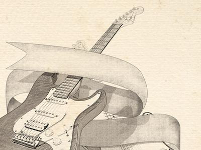 Fender Select guitar select illustration music stratocaster debut solis matthew