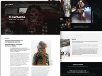 Website for Chewbacca