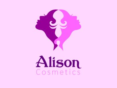 Alison Cosmetic adobe illustrator logocore day1challenge alison cosmetic