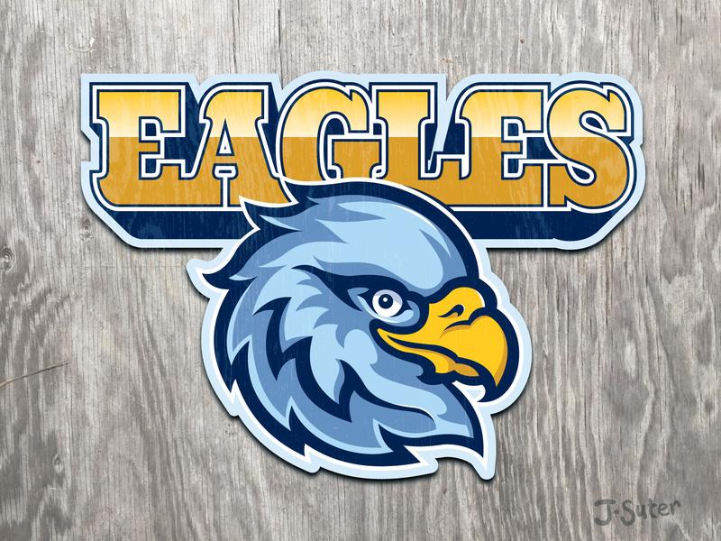 Eagles Mascot Logo