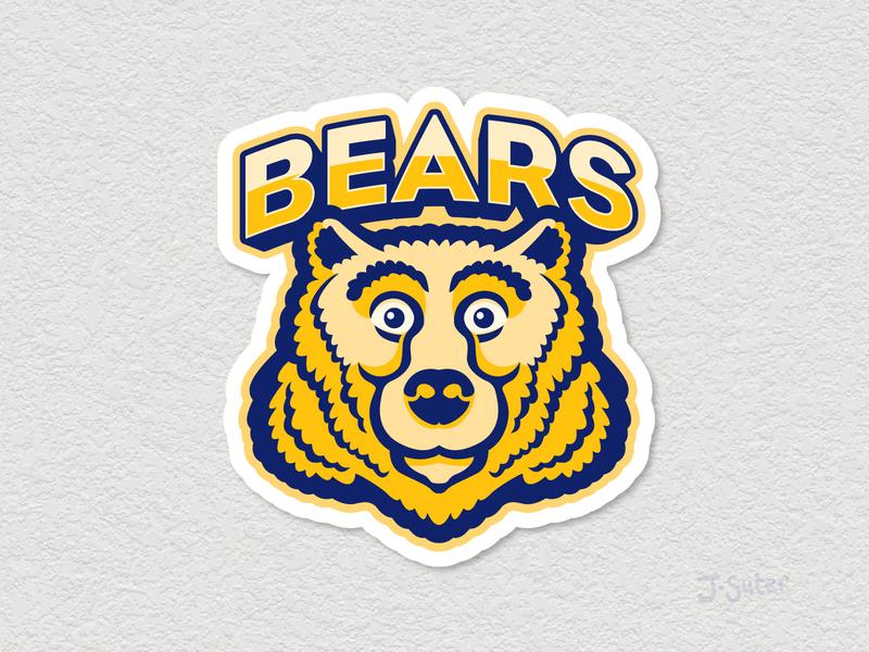 Bears Mascot Logo