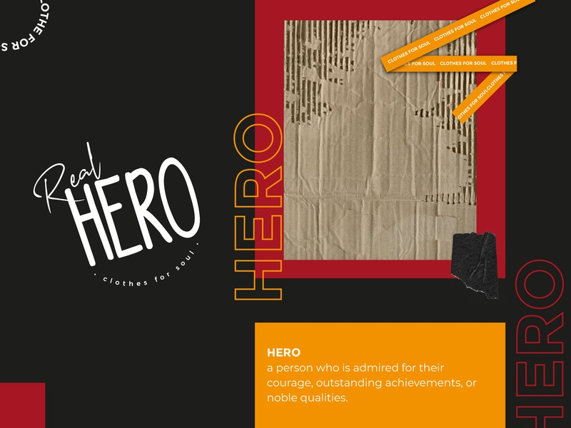 REAL HERO - Brand Design