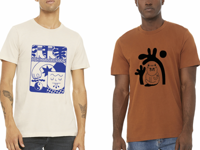 Beetle Ink Co. T-Shirts by Emily Small yin yang graphic novel graphic design graphic art cat t-shirt drawing t-shirt art t-shirt design merch merchandise design product design t-shirts adobe illustrator vector drawing design hand drawn illustrator illustration