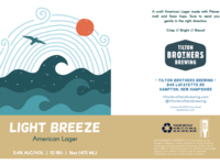 Light Breeze Can Label by Emily Small