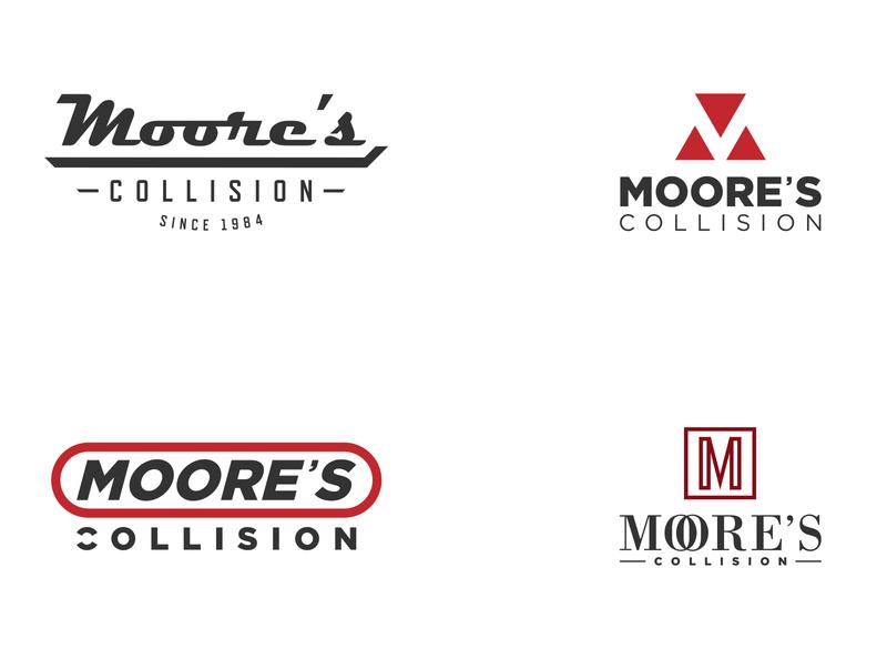 Moore's Collision - Logo Design Options