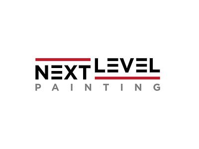 Next Level Painting - Logo Design painting flat minimal branding vector logodesign logo icon design