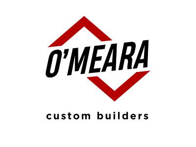 O'Meara Custom Builders - Logo Design flat minimal branding vector logodesign logo icon design