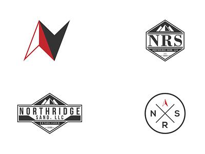 Northridge Sand - Logo Design Options flat branding vector logodesign logo icon design