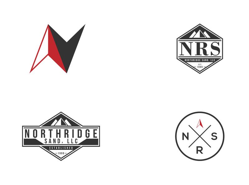 Northridge Sand - Logo Design Options