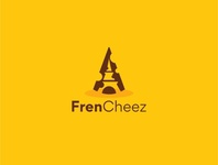 Unique logo for a cheese shop in France.