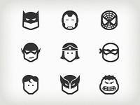 Superhero Icons