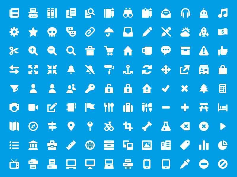 Symbolicons Junior! icons symbol symbolicons pixel perfect vector raster 16px 32px