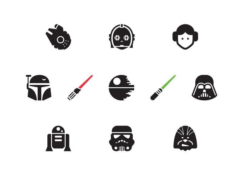 Free Star Wars Icons star wars icons darth vader