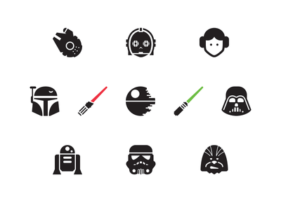 Free Star Wars Icons star wars icons darth vader