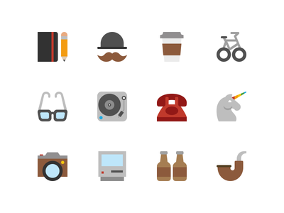 Symbolicons: Hipster