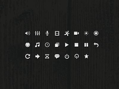 QLab 3 UI Icons by Jory Raphael on Dribbble