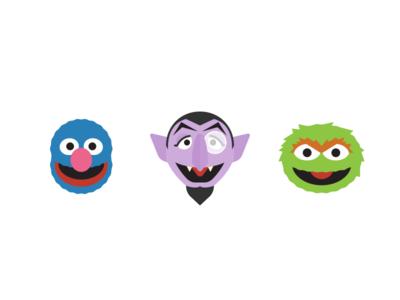 More Sesame Street Icons