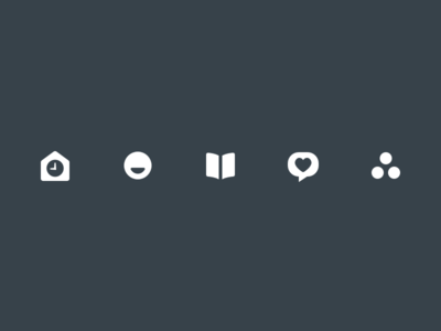 Notabli Toolbar Icons